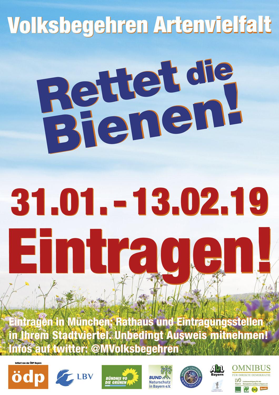 kl-Volksbegehren-Plakat